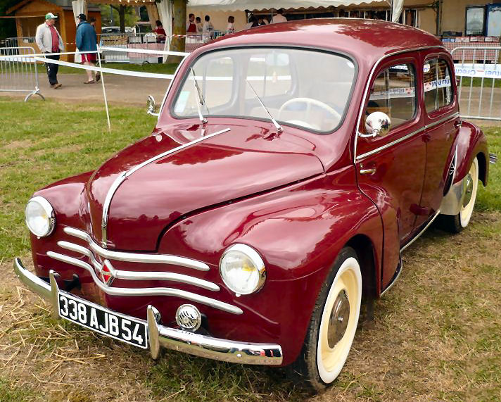 bordeaux avg Renault 4cv 14a
