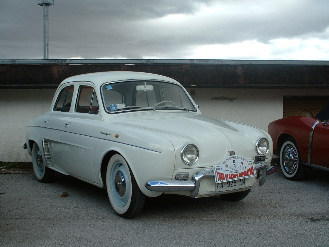 blanche avd Renault Dauphine, 1960