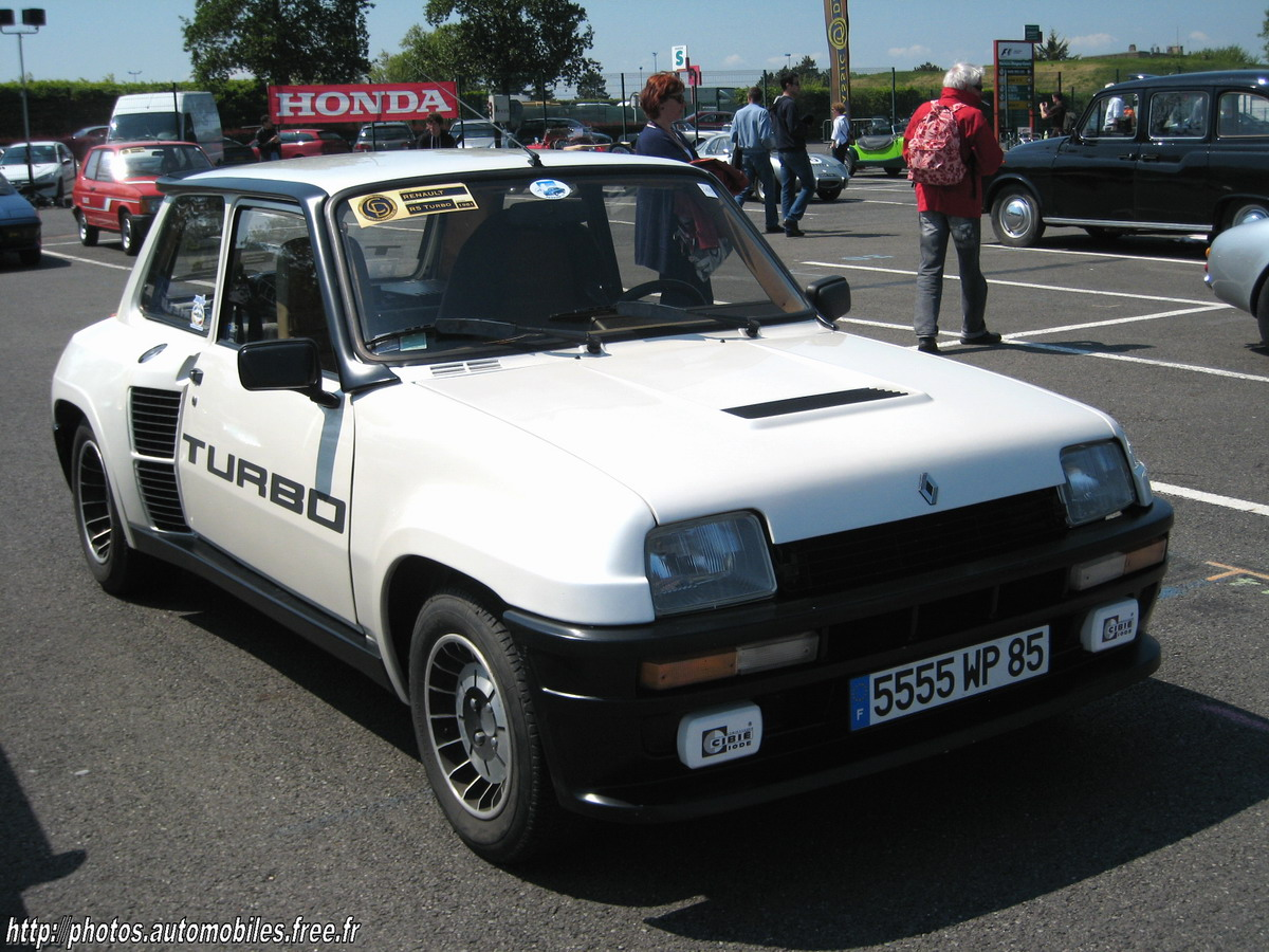 blanche avd Renault 5 Turbo 4