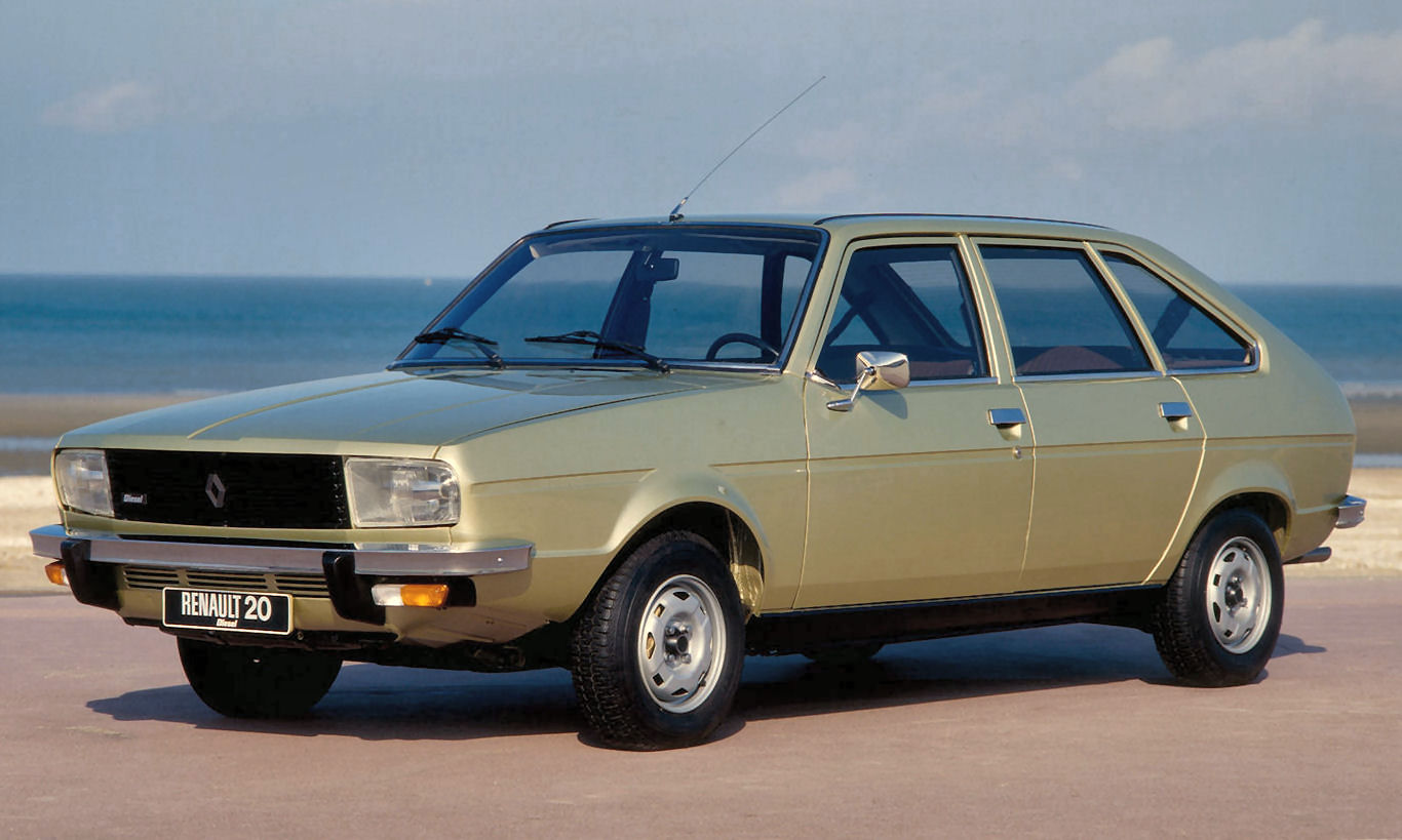 grise Renault-20 Turbo Diesel 1979 1600x1200 wallpaper 01