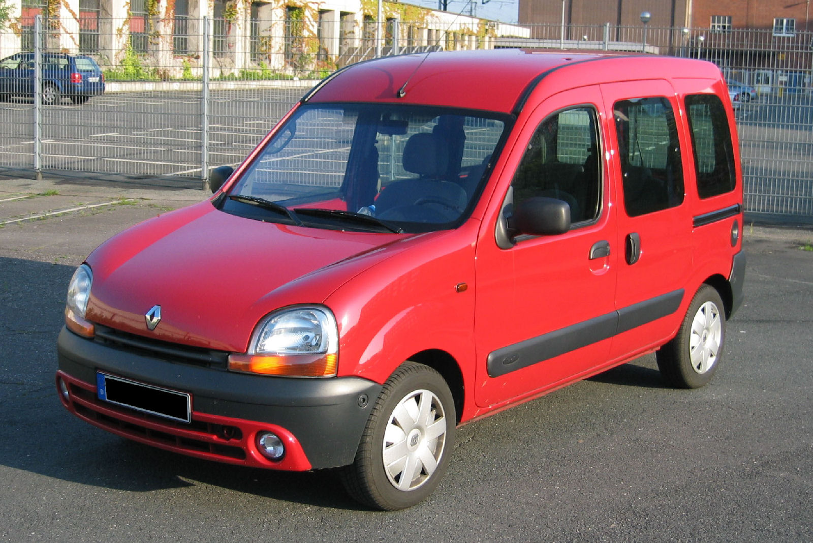rouge Renault Kangoo Red