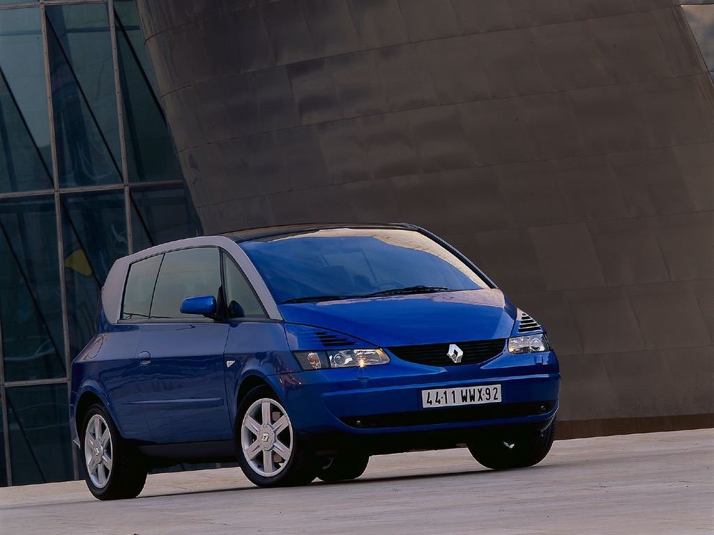 bleue wallpapers car renault renault-avantime-0012