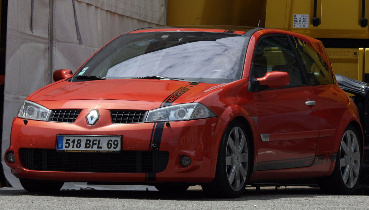 rouge megane rs VEchevannes050709 398