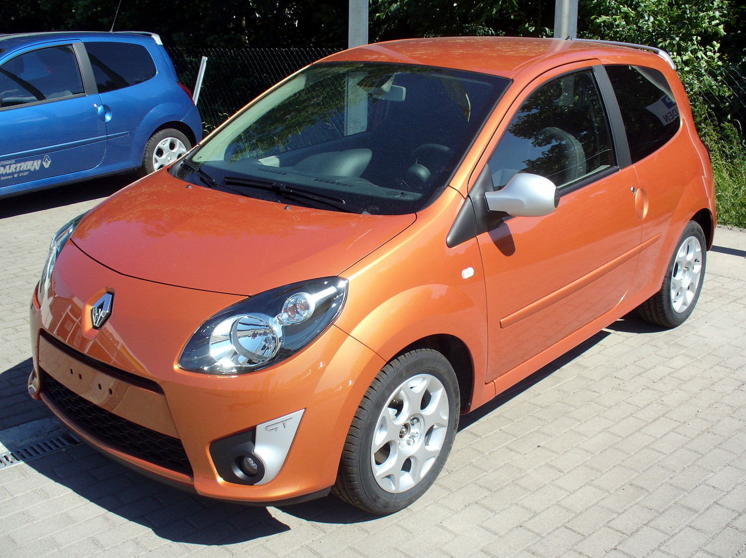 orange avg 20080907211354!Renault Twingo II Phse I GT Funken-Orange